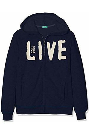 Benetton Boy's Indigo B3 Sports Hoodie