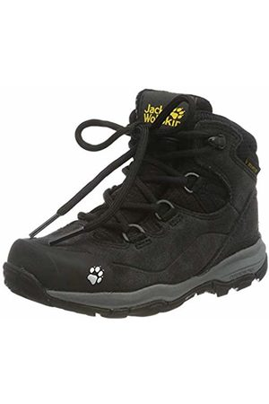 Jack Wolfskin Trainers - Unisex Kids' MTN Attack 3 Lt Texapore Mid K High Rise Hiking Shoes, ((Phantom/ 6364)