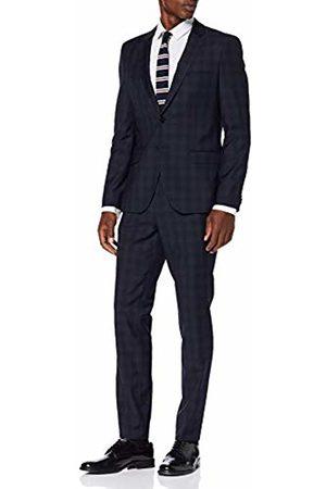 HUGO BOSS Men's Arti/hesten193 Suit, (Dark )