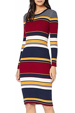 GANT Women's D1. Rib Knitted Dress (Multicolor 105)