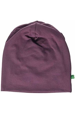 Green Cotton Girl's Alfa Beanie Hat, (Plum 019231101)