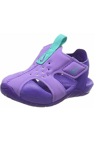 Nike Boys Sunray Protect 2 (td) Gymnastics Shoes, (Atomic Violet Jade/Hyper Grape 500)