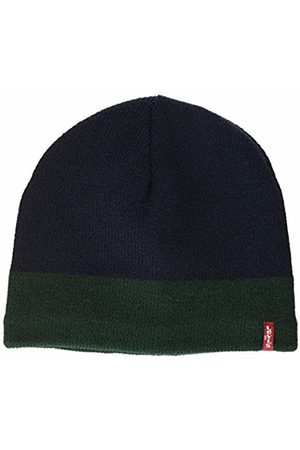 Levi's Men's Fleece Lined Beanie (Navy 17)