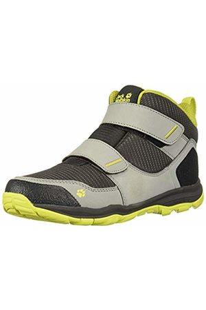 Jack Wolfskin Unisex Kids' MTN Attack 3 Texapore Mid Vc K High Rise Hiking Shoes, (Dark /Lime 6322)