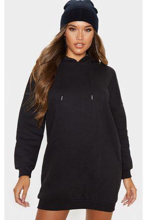 PRETTYLITTLETHING Oversized Boyfriend Hoodie Sweat Jumper Dress