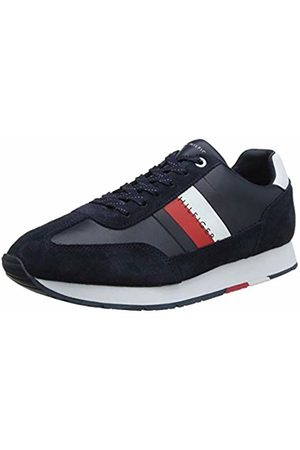 Tommy Hilfiger Men's Corporate Leather Flag Runner Low-Top Sneakers