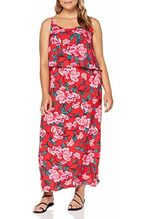Simply Be Women Printed Dresses - Women's Ladies Layered Maxi Dress ( Floral 001)