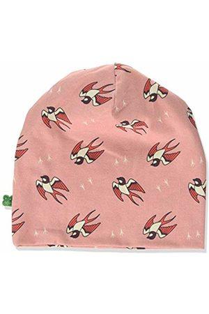 Green Cotton Girl's Bird Beanie Hat