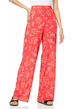 Quiz Women's Floral Print Palazzo Trousers 001