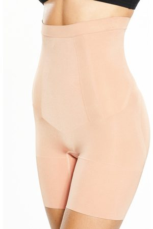 Spanx Women Shapewear - Super Firm Control Oncore High Waisted Mid Thigh Short - Soft