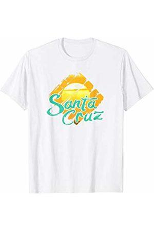 Santa Cruz Retro Beach Santa Cruz Southern California Vintage Sunset Retro T-Shirt