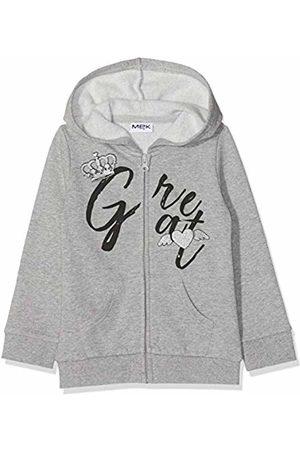 MEK Girls Hoodies - Girl's Full Zipper Felpa Garzata Con Cappuccio Sports Hoodie