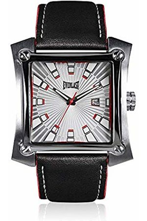 Everlast Watches - Unisex Adult Analogue Quartz Watch with Leather Strap EVER33-207-001