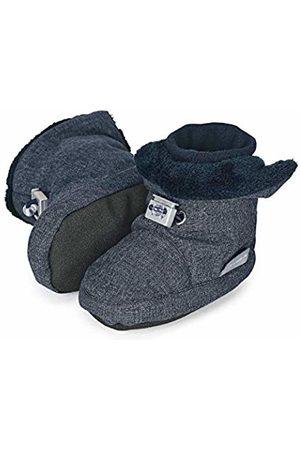 Sterntaler Jungen Baby-Schuh Stiefel, (Blau Melange 306)