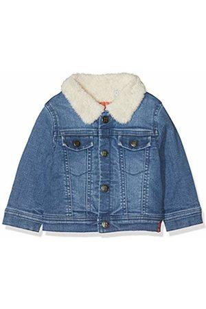 IKKS Boys Denim Jackets - Baby Boys' Blouson Denim Col Sherpa Jacket