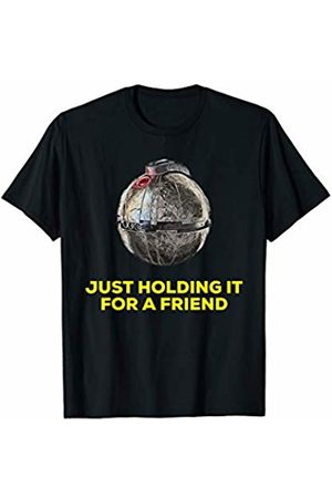 Wars In The Star Gear Holding a Thermal Detonator | Just Holding It For A Friend T-Shirt