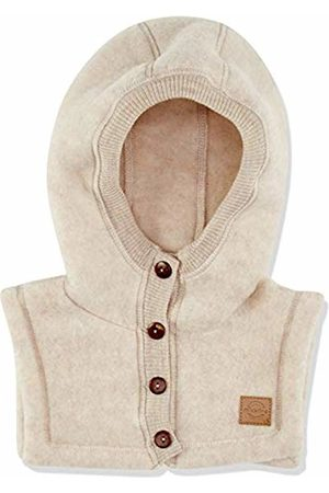 Mikk-Line Baby Wool Kapuzenmütze Hat, Off- Off- (Melange Offwhite 429)