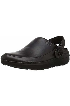 FitFlop Men's Gogh Pro in Leather Clogs, 001