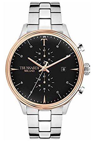 Trussardi Mens Analogue Quartz Watch with Stainless Steel Strap R2473630002