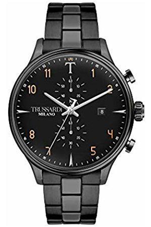 Trussardi Men Watches - Mens Analogue Quartz Watch with Stainless Steel Strap R2473630001