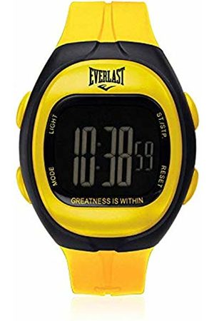 Everlast Unisex Adult Digital Quartz Watch with Plastic Strap EVER33-505-006