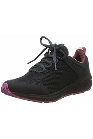 Jack Wolfskin Unisex Kids' Coogee Wt K Low-Top Sneakers, (Ebony/Raspberry 6242)