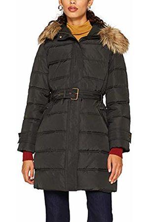 Esprit Women's 099Ee1G007 Coat, (Dark Teal 375)