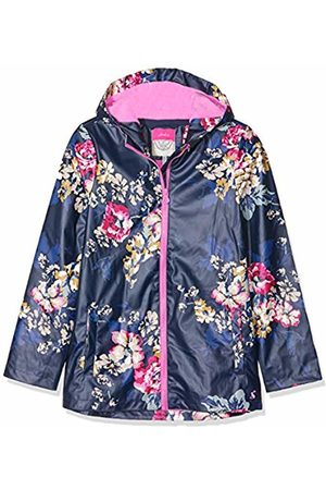 Joules Girl's Raindance Raincoat, (Cambridge Anniversary Floral)