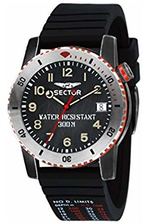 Sector Mens Analogue Quartz Watch with Silicone Strap R3251598001