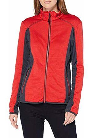 James & Nicholson Women's Ladies' Structure Fleece Jacket /Carbon