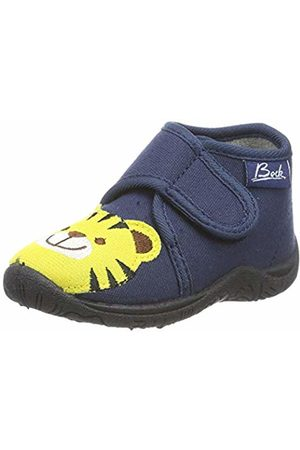 Beck Unisex Kids' Tigerle Hi-Top Slippers
