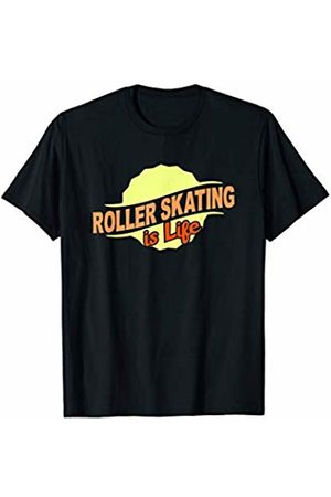 Gifts and Gear For Athletes Roller Skating Is Life Sports Lover Athlete Competitor Gift T-Shirt