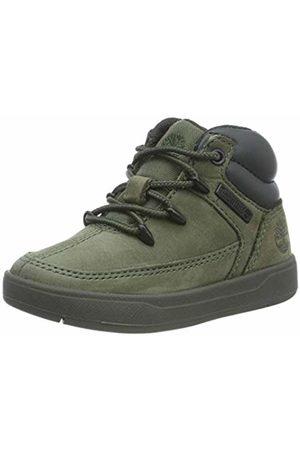 Timberland Trainers - Unisex Kids' Davis Square Eurosprint Low-Top Sneakers, (Dark Nubuck)
