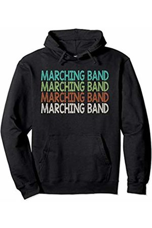 Marching Band Gift Co. Marching Band Design Gift School Student Kid Teen Pullover Hoodie