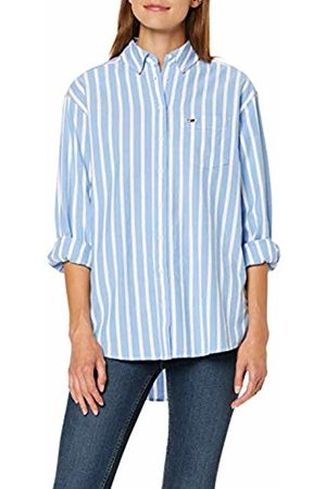 Tommy Hilfiger Women's Tjw Washed Multistripe Shirt Blouse