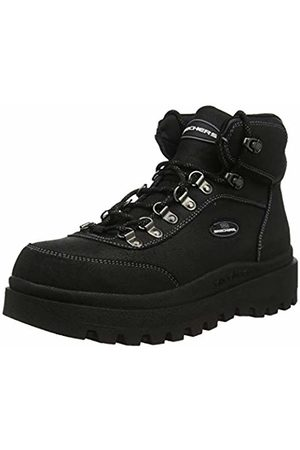 Skechers Women's SHINDIGS Ankle Boots, Oily Suede BBK
