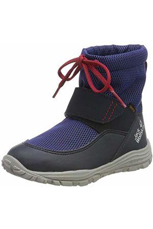 Jack Wolfskin Unisex Kids' Kiwi Wt Texapore Mid K Wasserdicht Snow Boots, (Dark / 1178)
