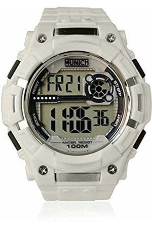 Munich Unisex Adult Digital Quartz Watch with PU Strap MU+113.7A