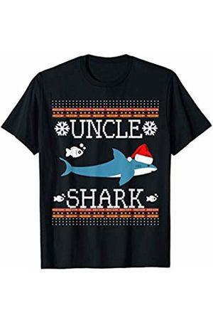 Mommy Shark Matching Family Christmas Set Shirts Mens Matching Family Christmas Pajamas Uncle Shark Jumper T-Shirt