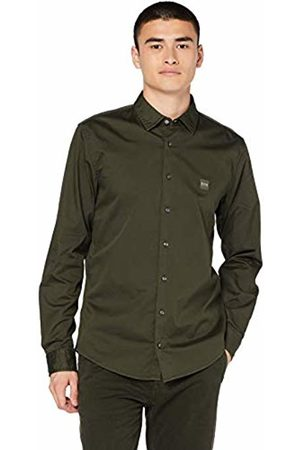 HUGO BOSS Men's Mypop_2 Casual Shirt, (Open 346)