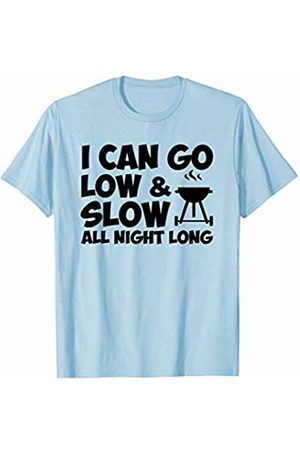 Funny gift shirt I Can Go Low And Slow All Night Long BBQ Grilling Shirt