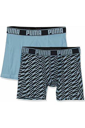 Puma Men's Active Boxer Bolt Print 2p Packed Sports Underwear, ( 056)