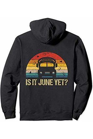 iRockstar Merch Bus School Outfit Driver Student Kids Retro Summer Vacation Pullover Hoodie