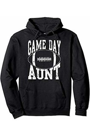 Tee Styley Football Game Day Aunt Sports Family Womens Gift Pullover Hoodie