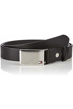 Tommy Hilfiger Men's TH Plaque Belt 3.5 ADJ ( 002)