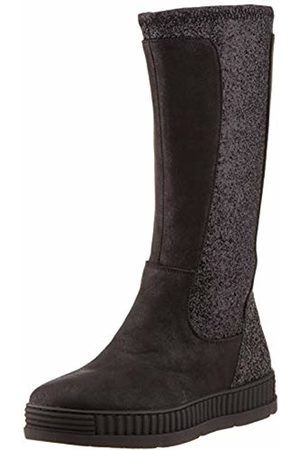 Gioseppo Girls' Luneburg Slouch Boots, Negro