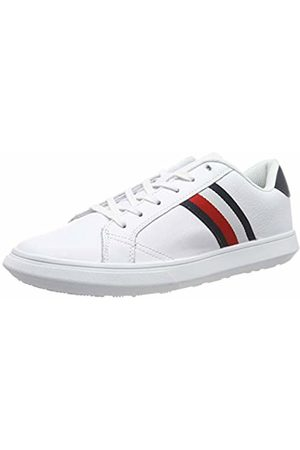 Tommy Hilfiger Men's Essential Leather Cupsole Low-Top Sneakers