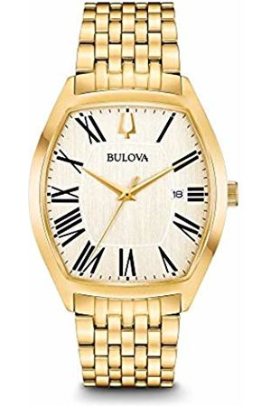 BULOVA Mens Analogue Classic Quartz Watch with Stainless Steel Strap 97B174