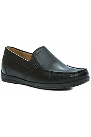 Geox U Simon W C - Smooth Leather, Men's Loafers