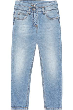 Balmain Exclusive to Mytheresa – patch denim jeans